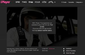 melding bbc geoblokkade