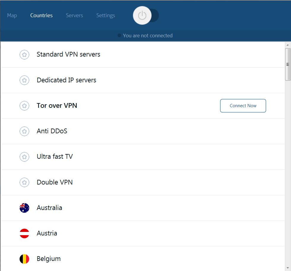 instellingen Nordvpn Android