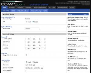vpn client op DD-WRT