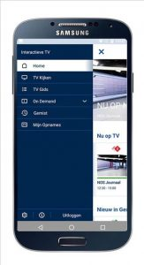 KPN interactieve tv in buitenland