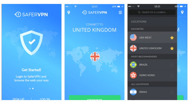 Android app SaferVPN