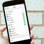 iCloud synchronisatie instellingen
