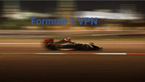 formule 1 VPN