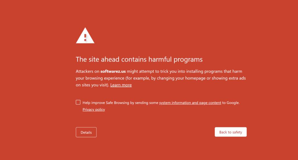 een voorbeeld van malware